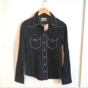 UO Snap Front Western Shirt